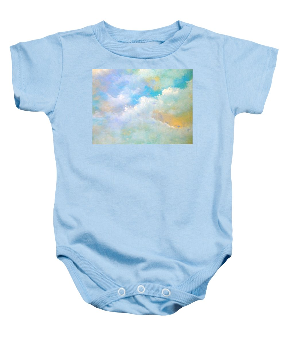 Truck Baby Onesie featuring the painting Passing By by Lord Frederick Lyle Morris - Disabled Veteran