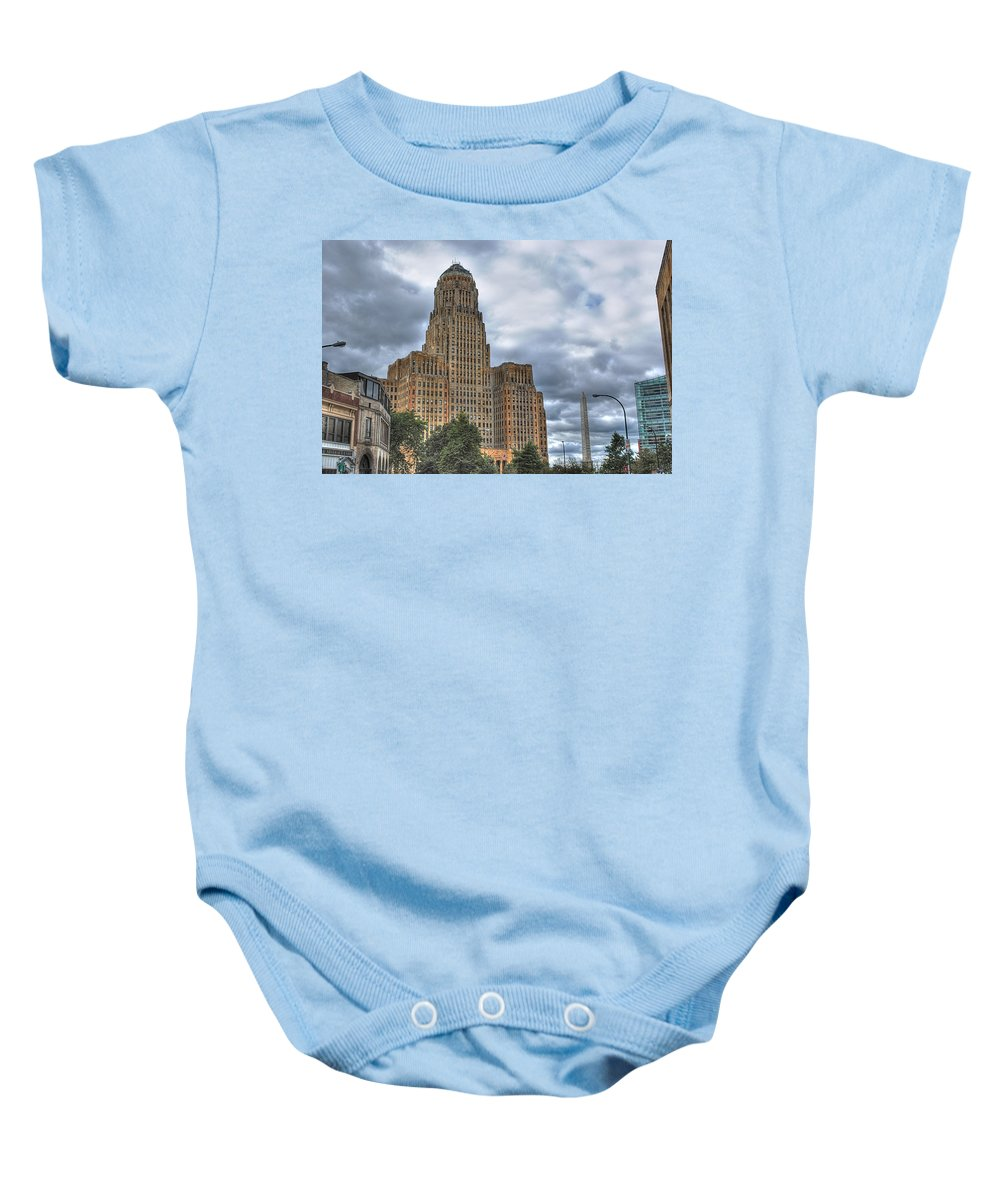 Baby Onesie featuring the photograph Piercing The Heavens by Michael Frank Jr