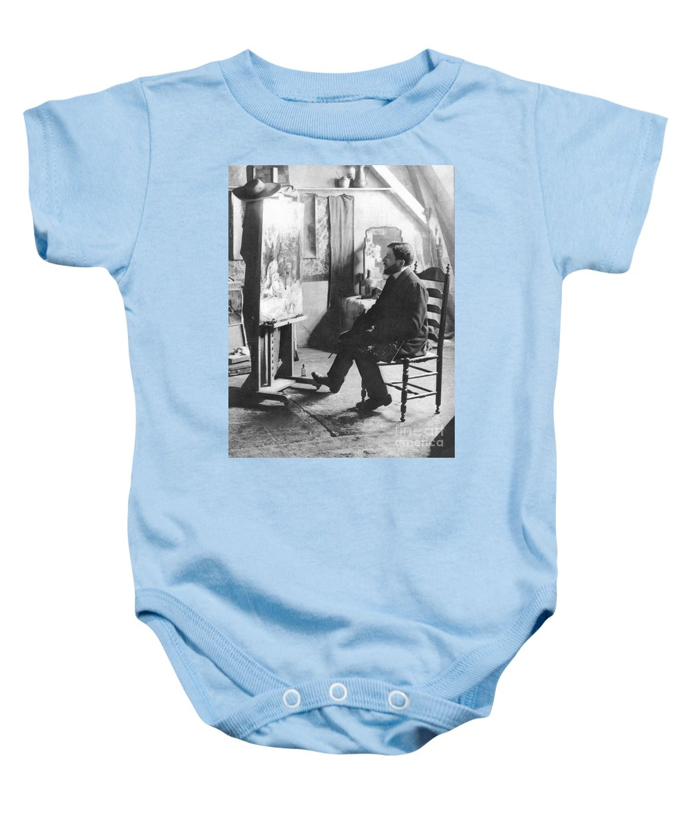 1905 Baby Onesie featuring the photograph Piet Mondrian (1872-1944) by Granger