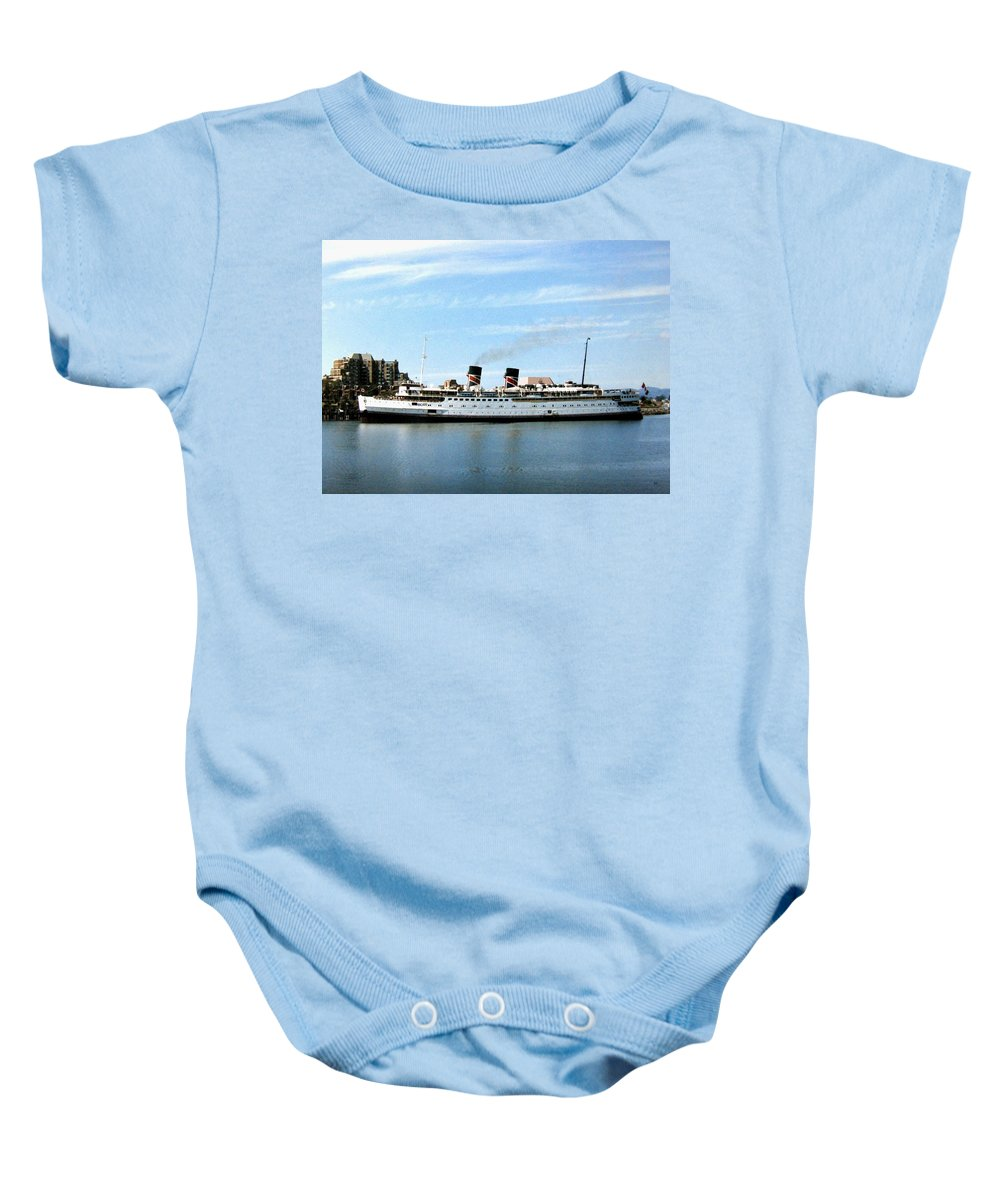 Princess Marguerite Baby Onesie featuring the photograph Princess Marguerite by Will Borden