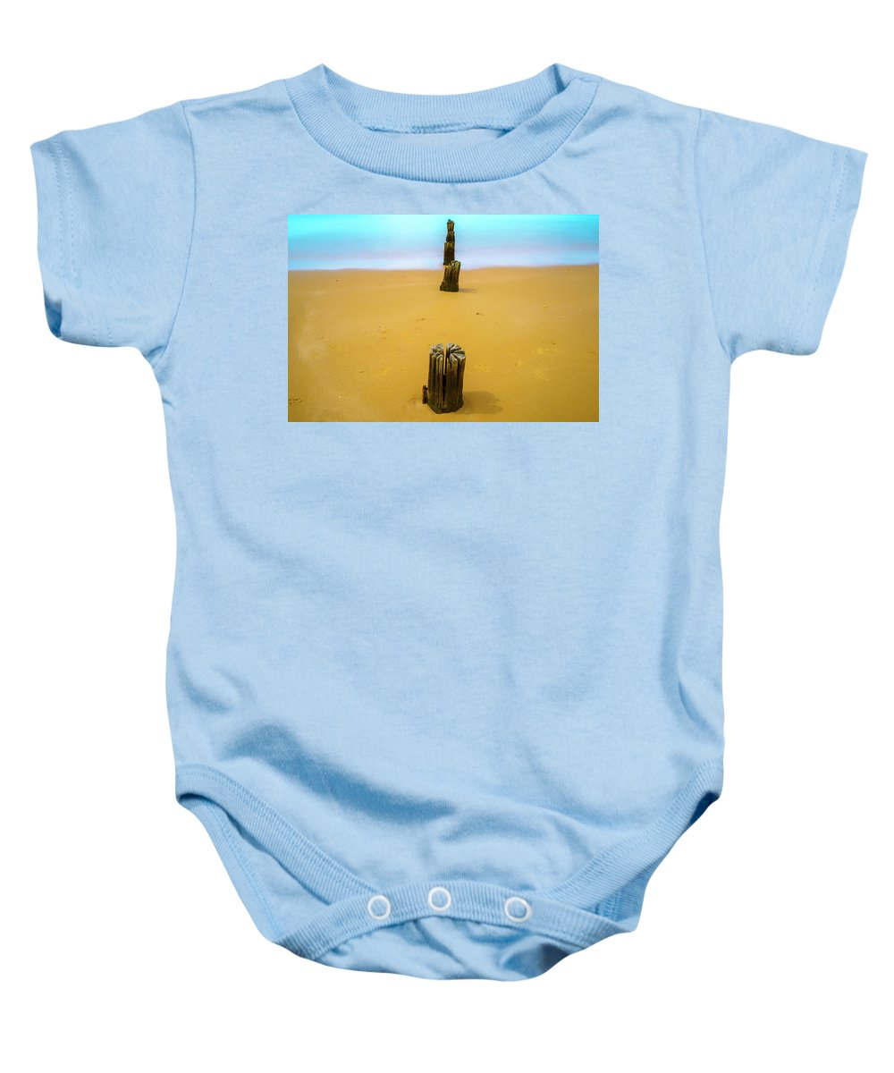 Landscapes Baby Onesie featuring the photograph Progress And Regress by DesignBoard Photography