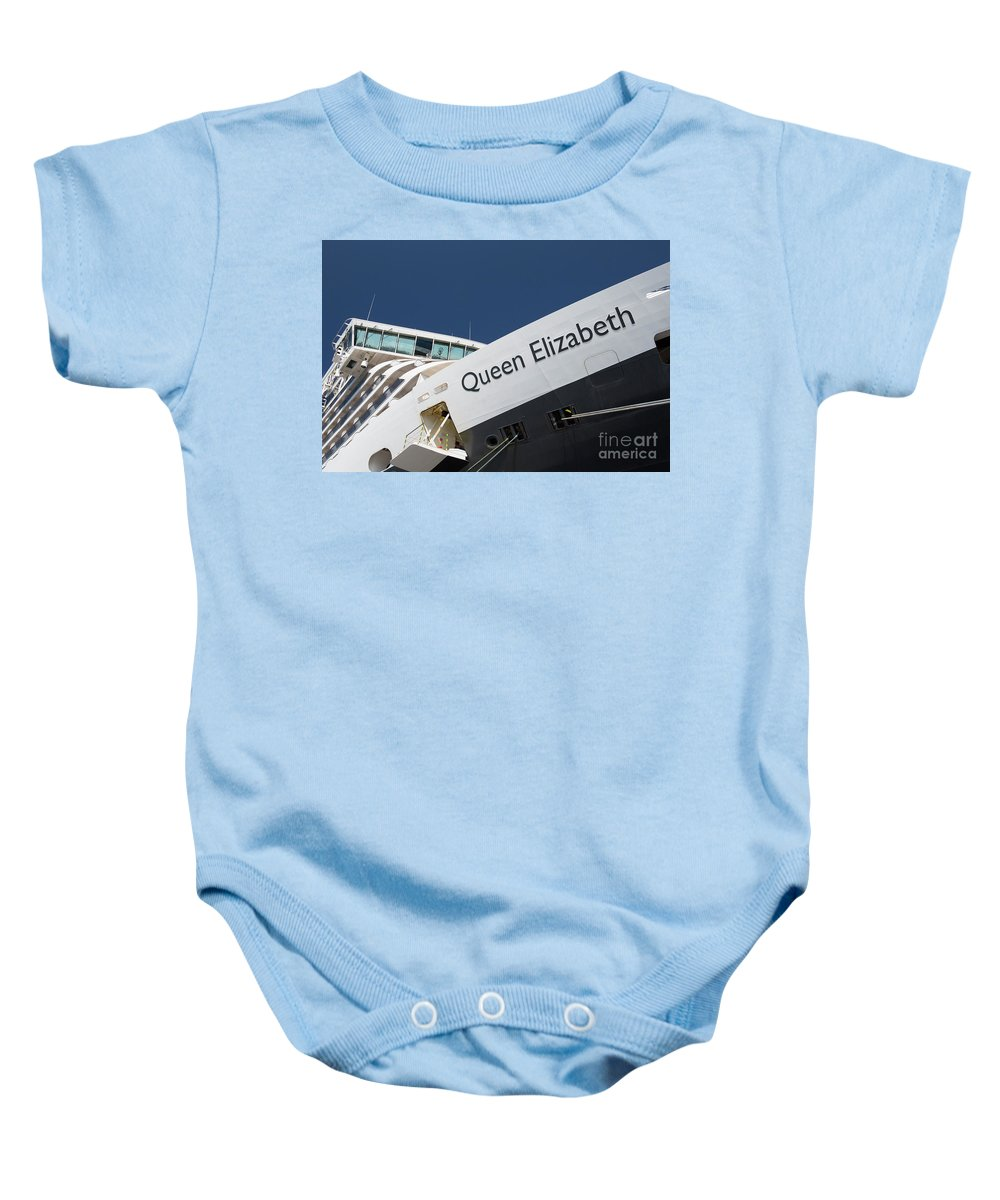 Queen Eliabeth Baby Onesie featuring the photograph Queen Eliabeth by Sheila Smart Fine Art Photography