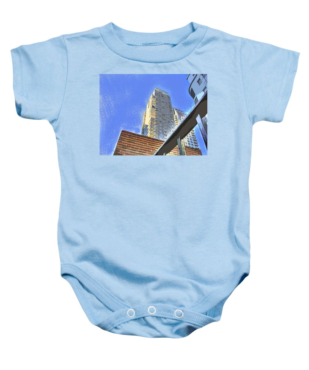 Building Baby Onesie featuring the photograph Reaching For The Sky by Francisco Colon