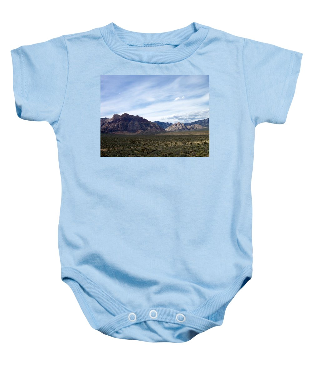 Red Rock Canyon Baby Onesie featuring the photograph Red Rock Canyon 4 by Anita Burgermeister