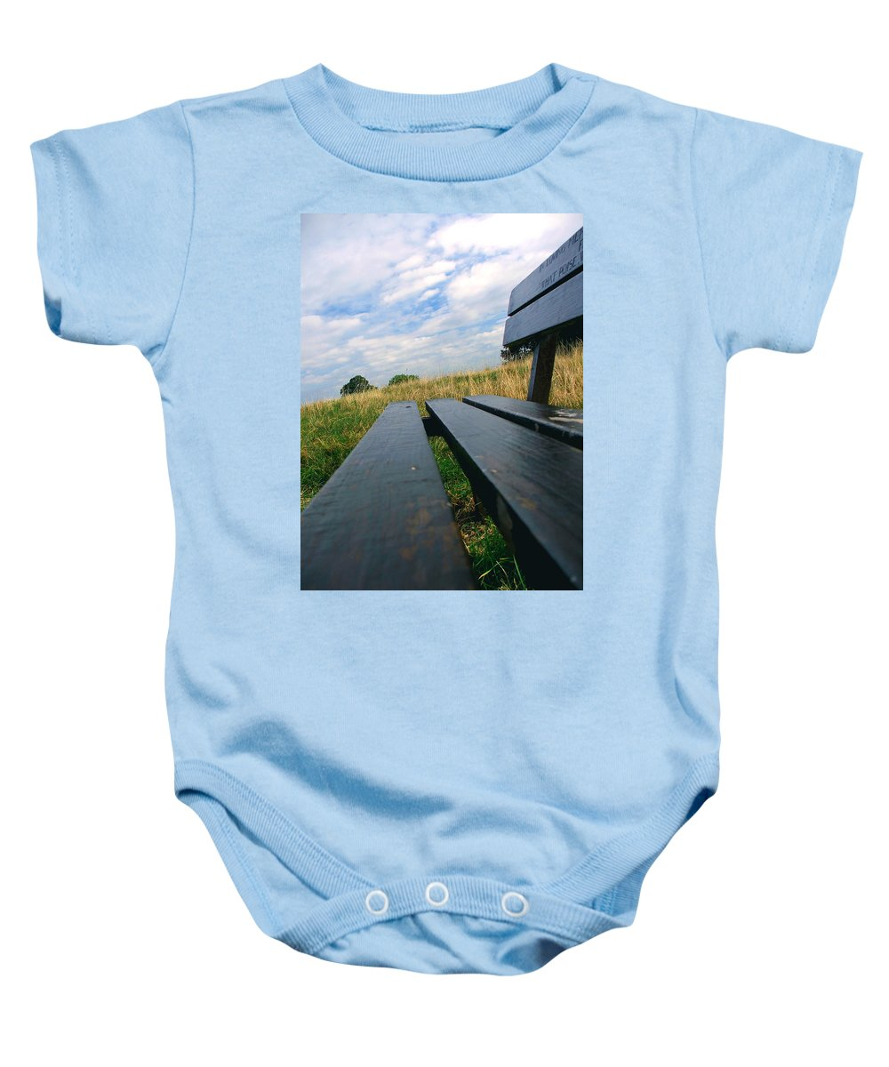 Sympathy Baby Onesie featuring the photograph Remembrance by Heather Lennox