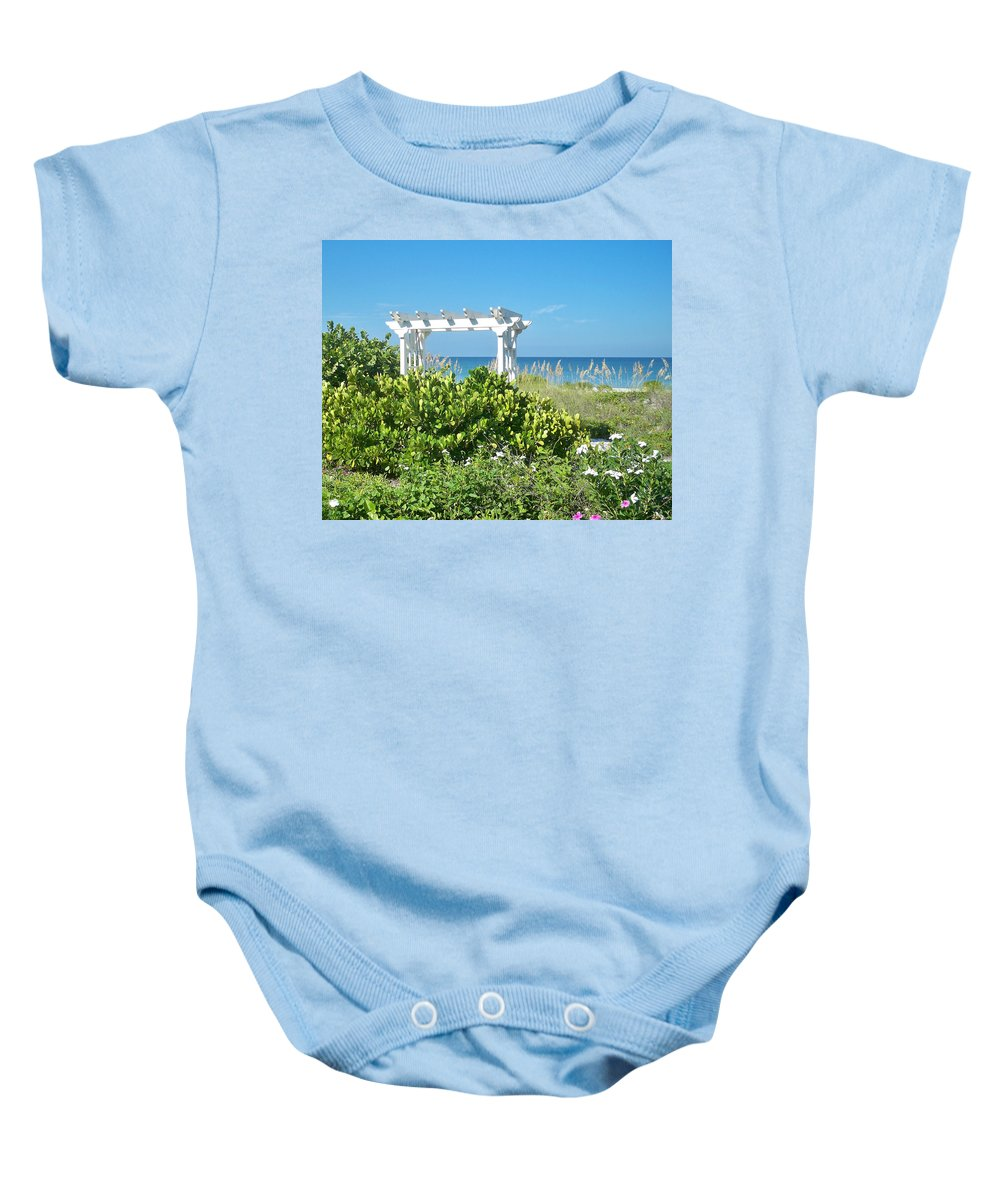 Florida Baby Onesie featuring the photograph Restful by Chris Andruskiewicz