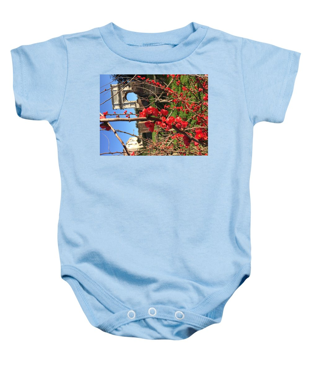 Roma Baby Onesie featuring the photograph Roma by Nicole Prohaska