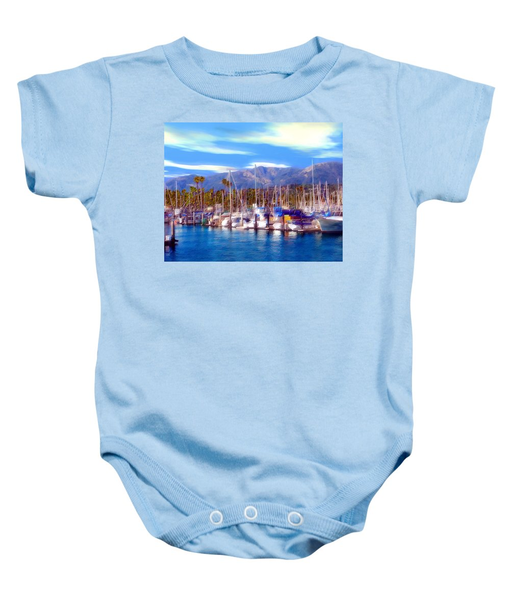 Charbor Baby Onesie featuring the photograph Safe Haven by Kurt Van Wagner