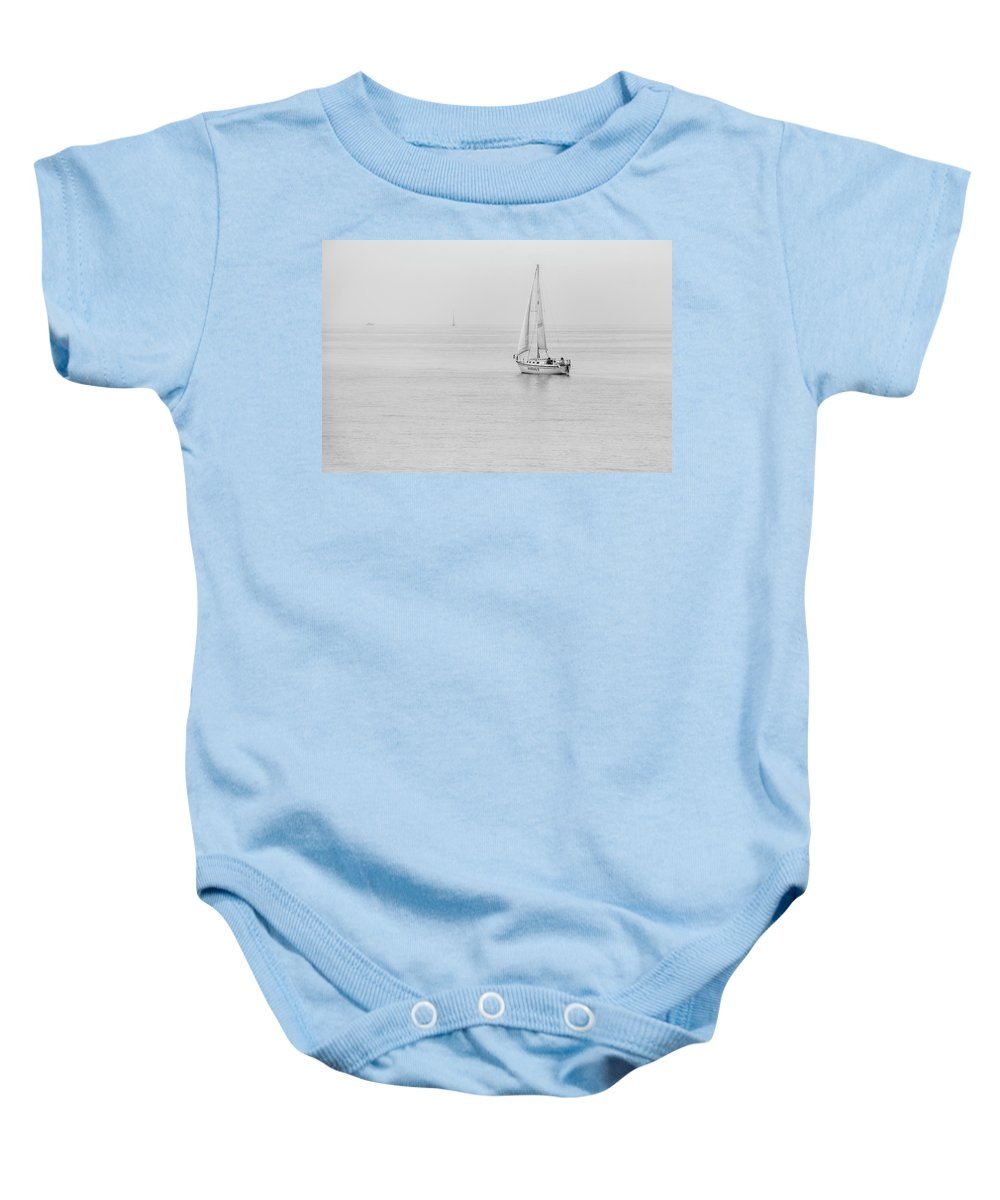 Sailing Baby Onesie featuring the photograph Sailing 0633 by Kristina Rinell