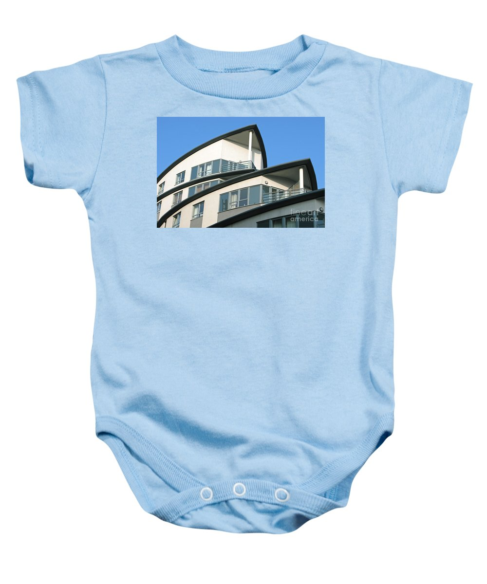 Condo Baby Onesie featuring the photograph Ship-shape by Ann Horn