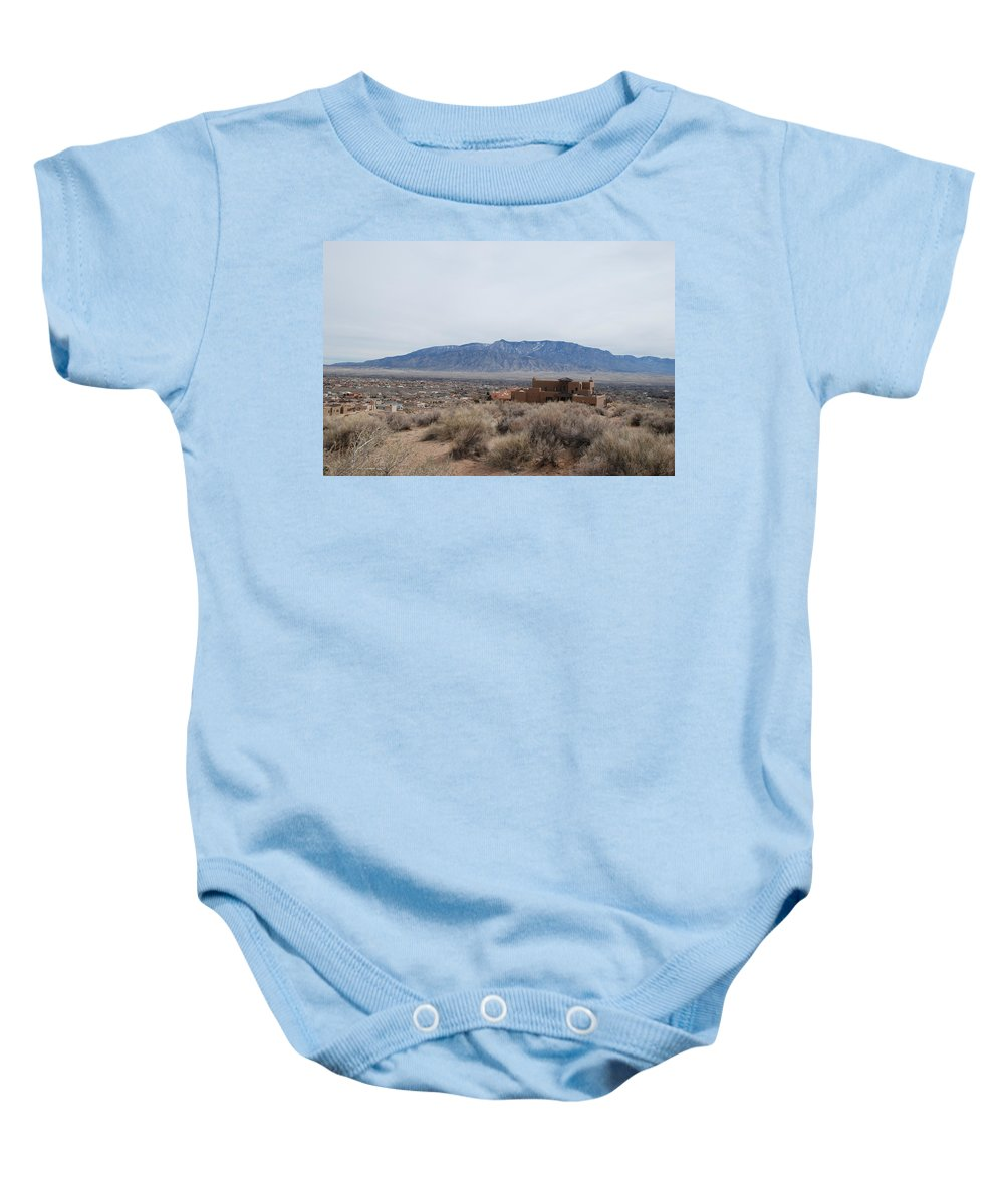 Mountians Baby Onesie featuring the photograph Shoulda Coulda Woulda by Rob Hans