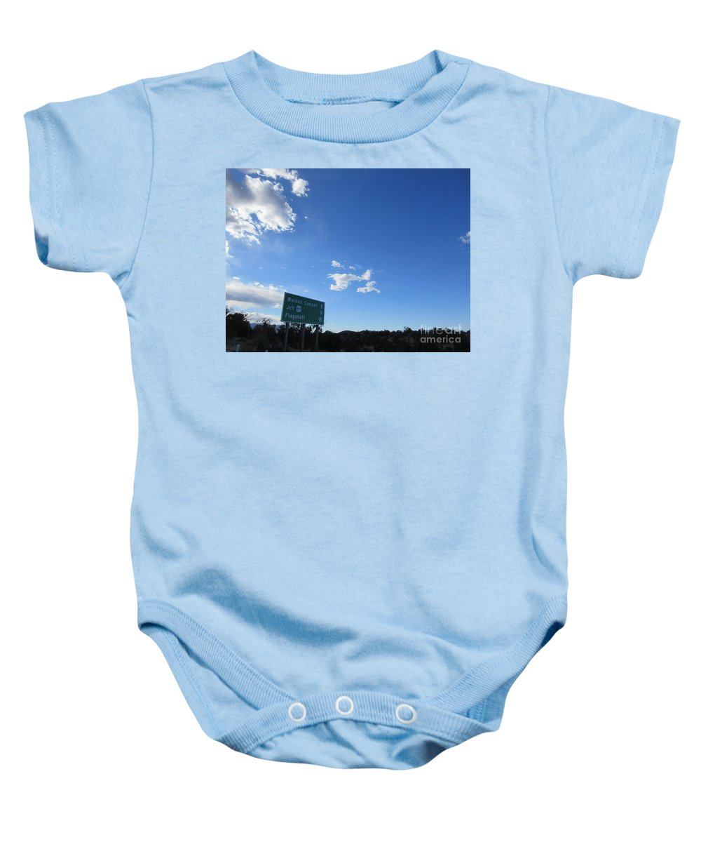 Signs Baby Onesie featuring the photograph Signs by Frederick Holiday