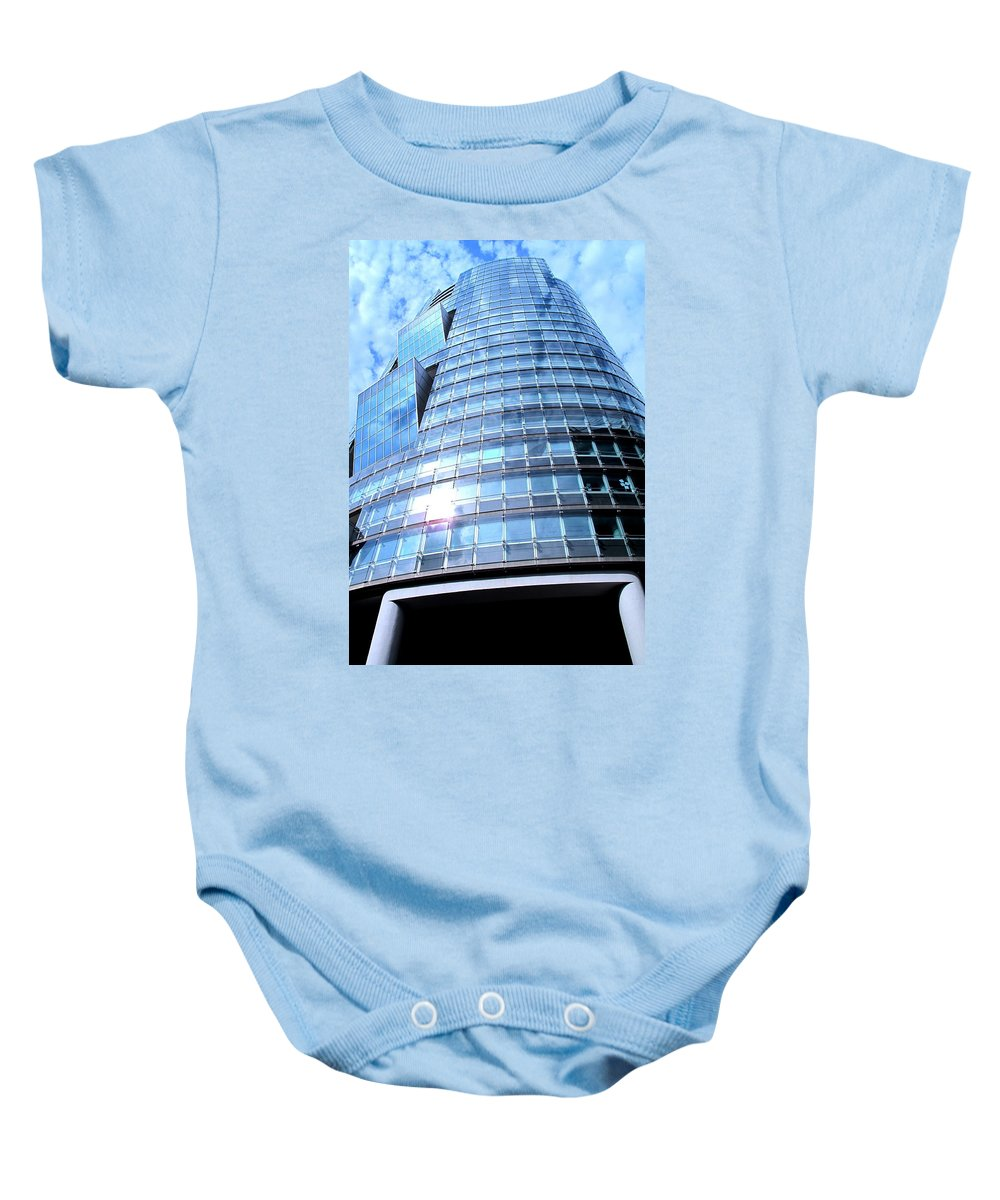 Vienna Baby Onesie featuring the photograph Soaring by Ian MacDonald