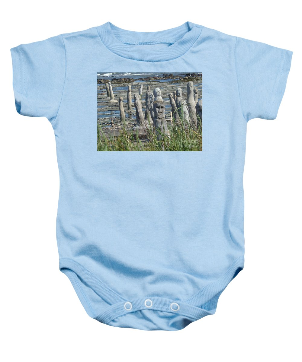 Landscape Baby Onesie featuring the photograph Ste Flavie by Line Gagne