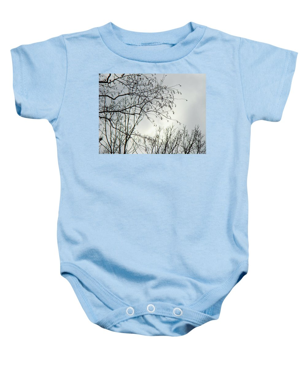 Sky Baby Onesie featuring the photograph Storm Approaching by Mother Nature