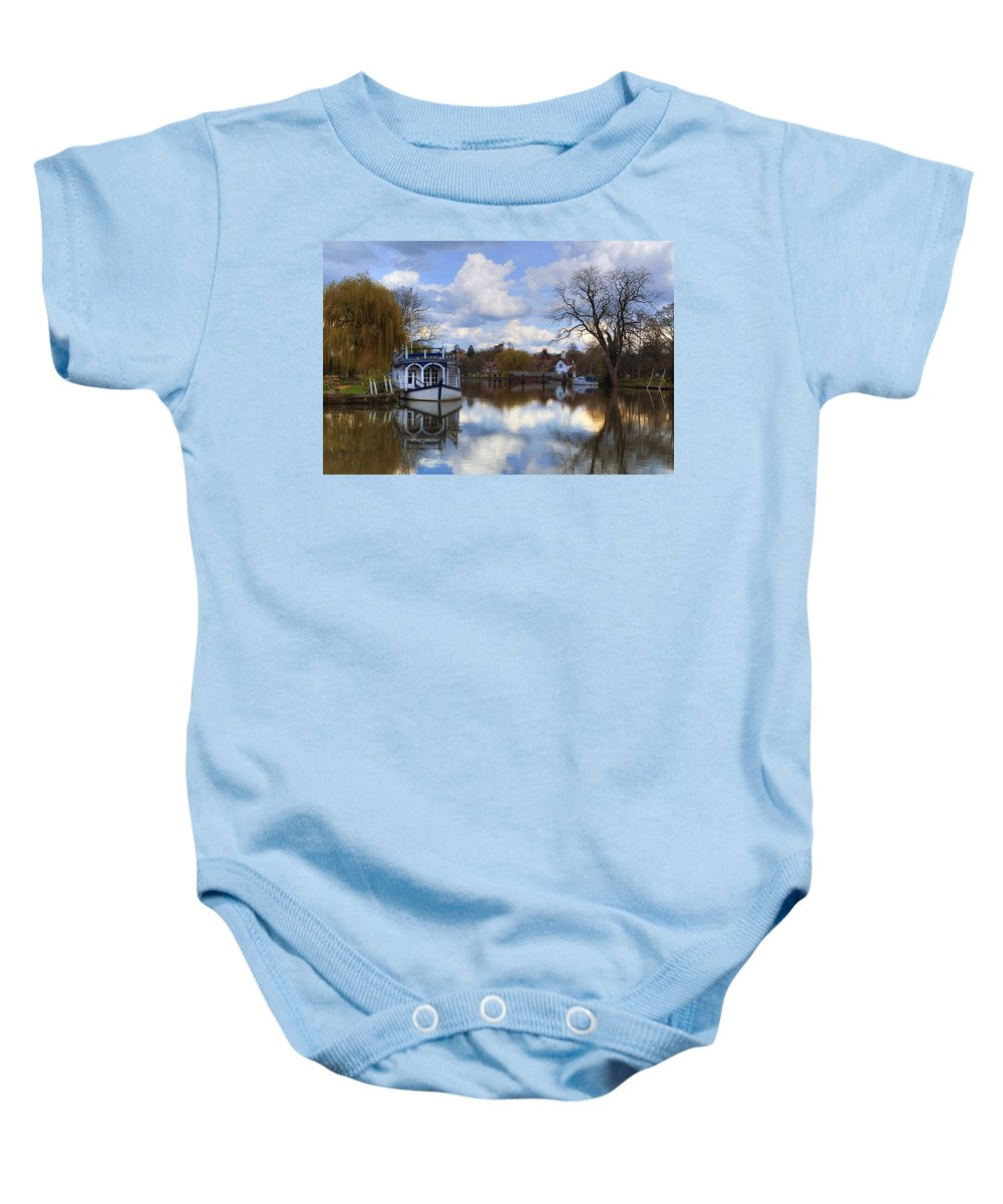 Strateley Baby Onesie featuring the photograph Strateley - England by Joana Kruse