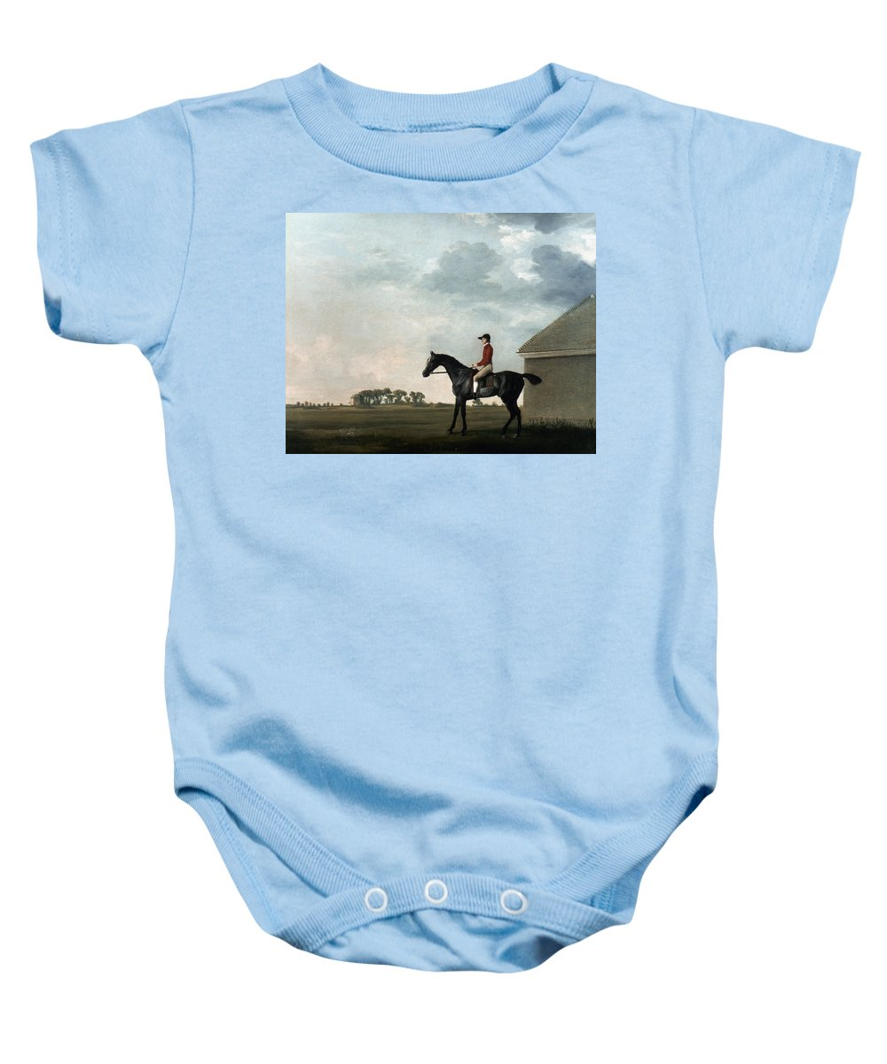 18th Century Baby Onesie featuring the photograph Stubbs: Gimcrack, 1765 by Granger