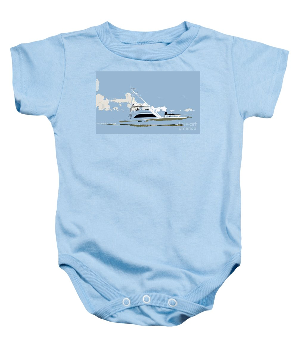 Boat Baby Onesie featuring the photograph Summer Freedom by David Lee Thompson