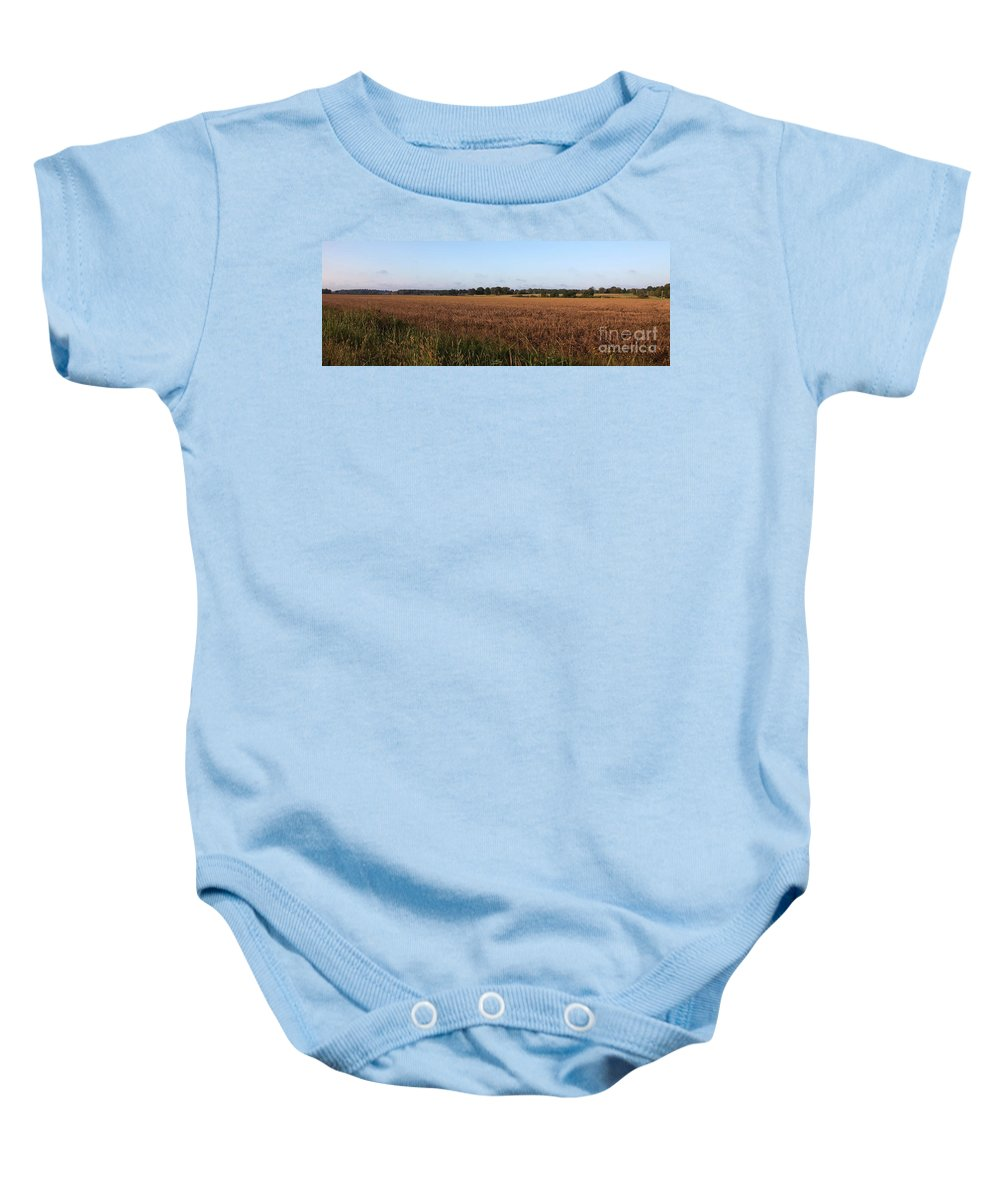 Tennessee Baby Onesie featuring the photograph Sunday Drive by Amanda Barcon
