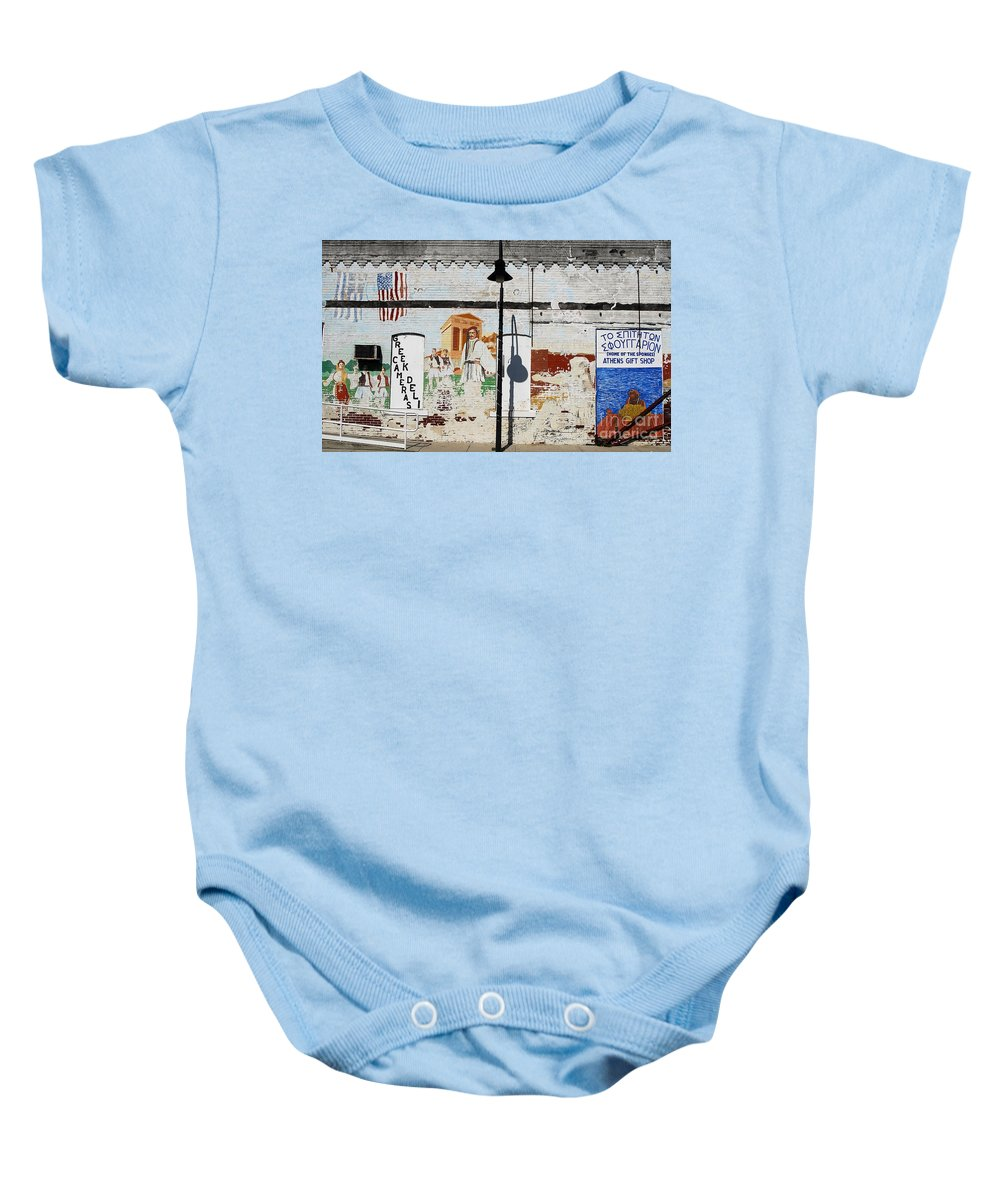 Greek Baby Onesie featuring the photograph Tarpon Springs by David Lee Thompson