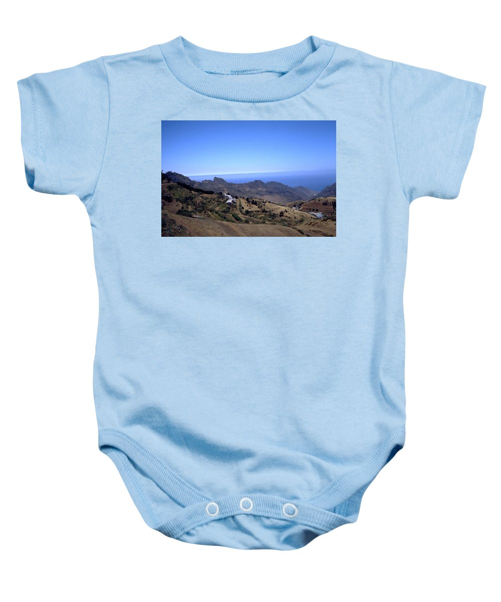 Tenerife Baby Onesie featuring the photograph Tenerife II by Flavia Westerwelle