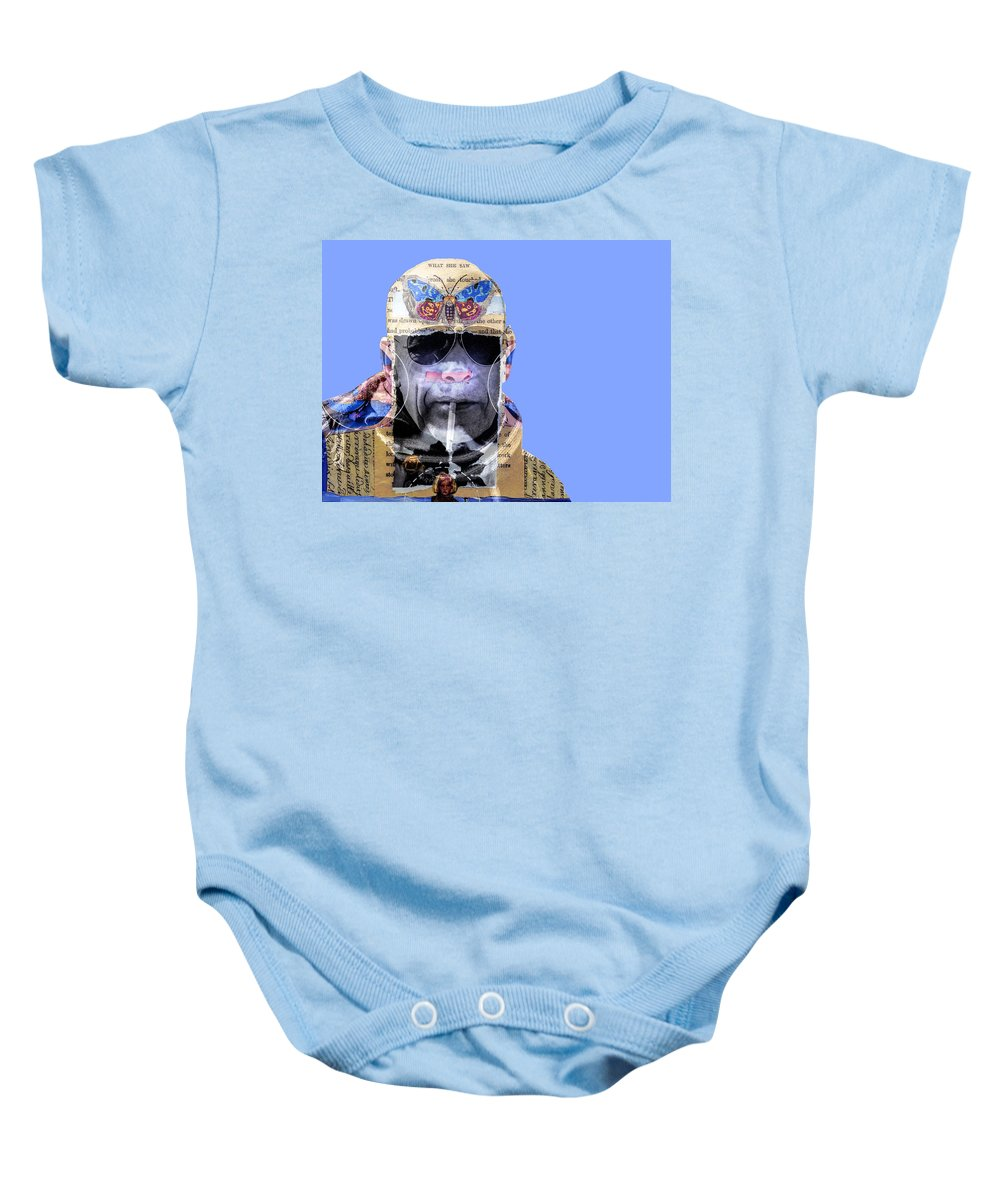 Butterfly Effect Baby Onesie featuring the photograph The Butterfly Effect by Dominic Piperata