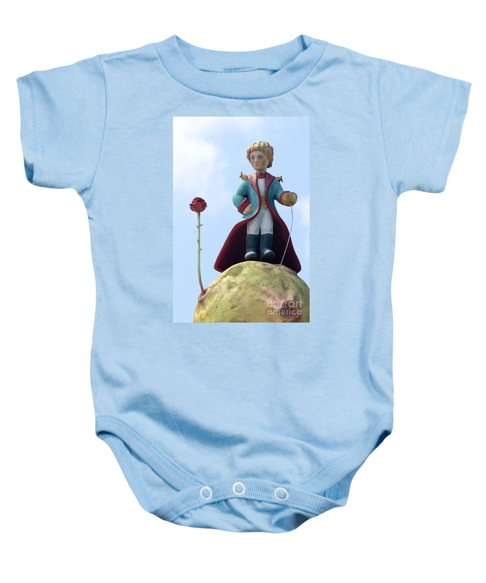 The Baby Onesie featuring the photograph The Little Prince by Amir Paz