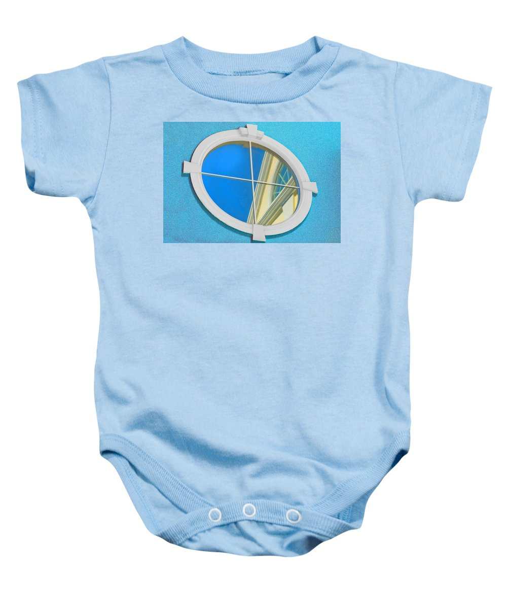 Photography Baby Onesie featuring the photograph The Looking Glass by Paul Wear