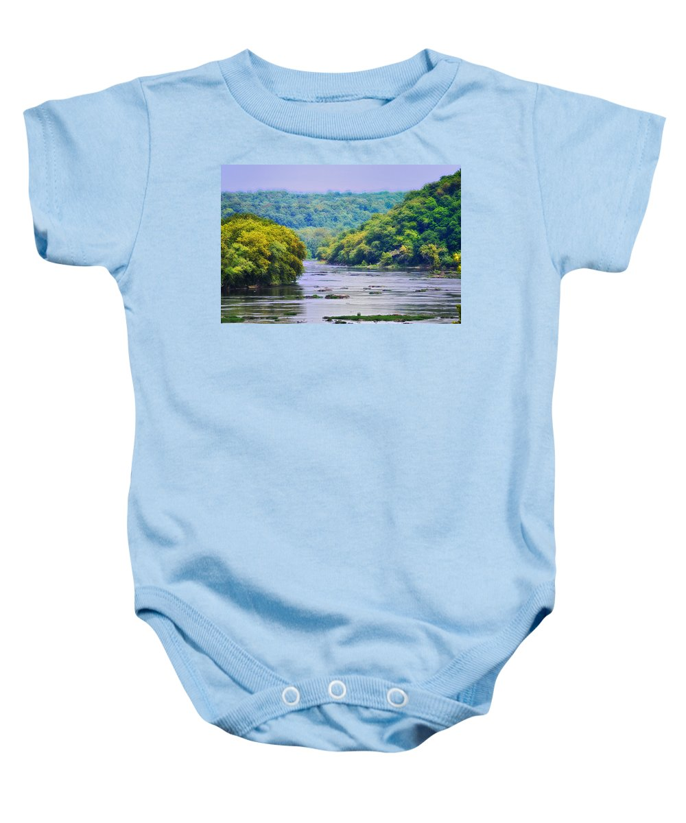 West Virginia Baby Onesie featuring the photograph The Potomac by Bill Cannon