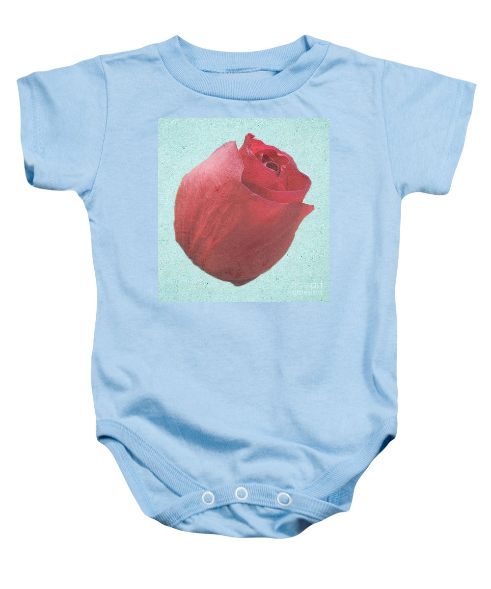 Rose Baby Onesie featuring the photograph Thornless by Jeffrey Kolker