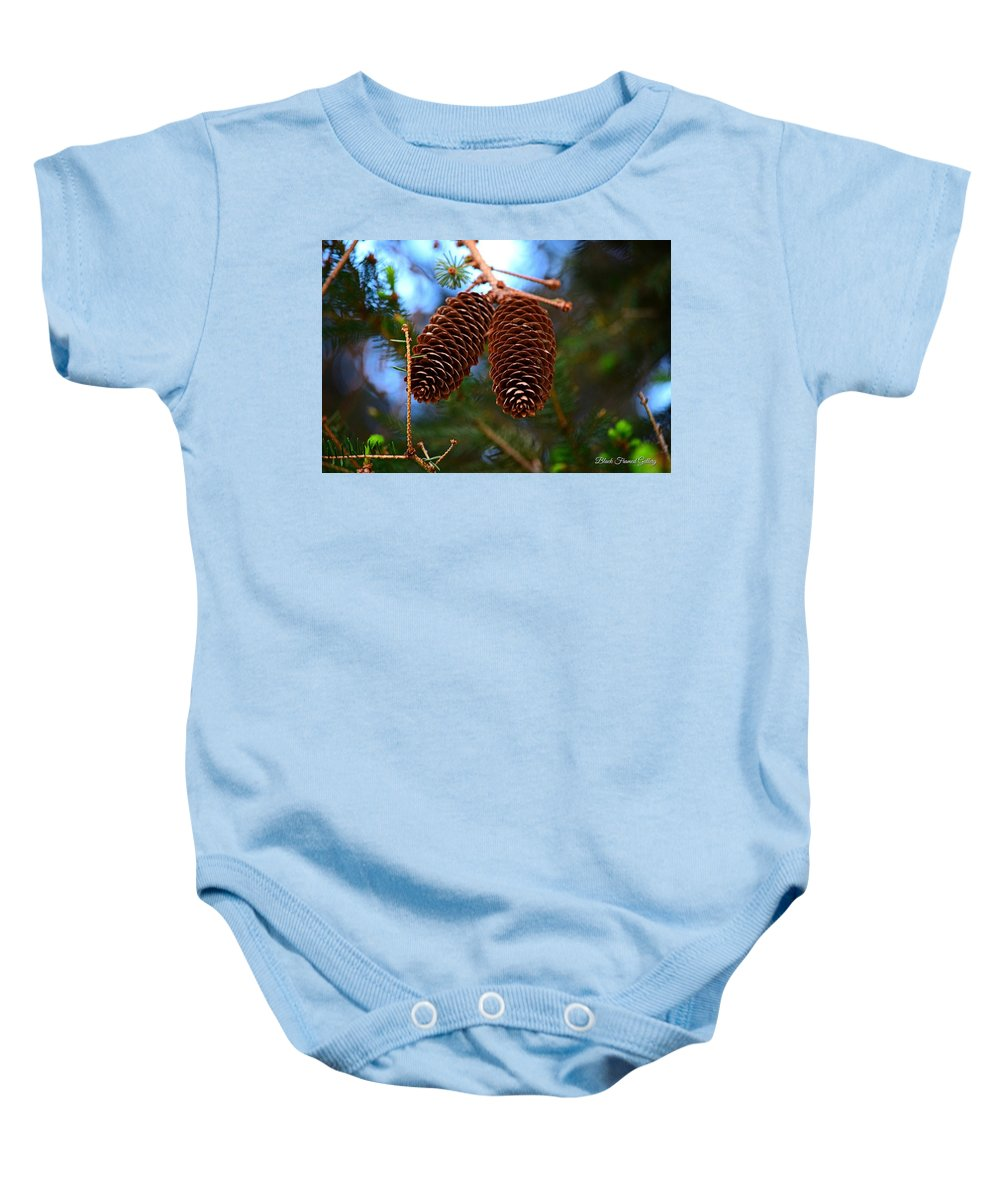 Brother Baby Onesie featuring the photograph Twins Forever by Kurt Keller