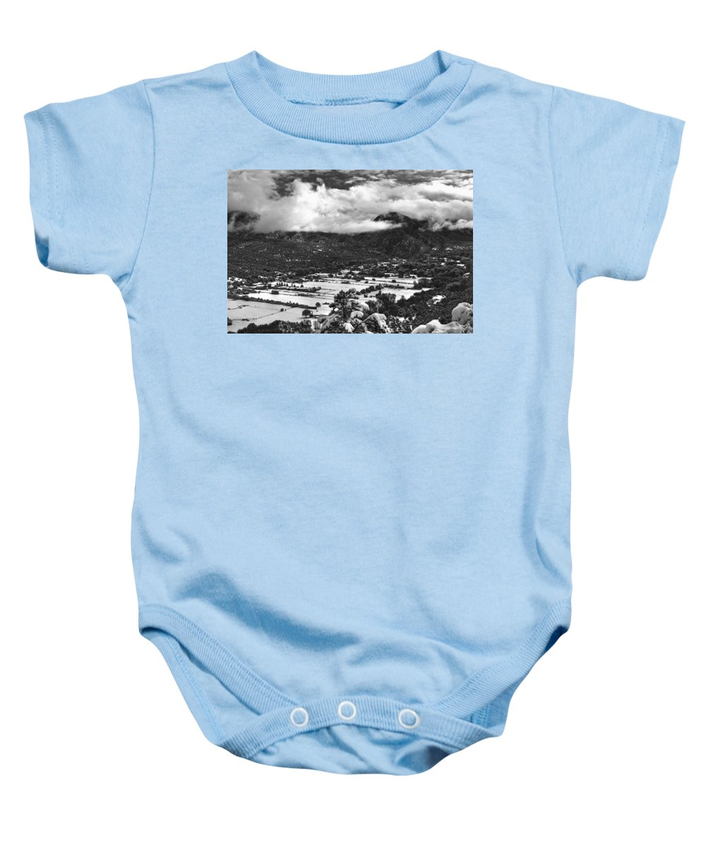 Valdez Baby Onesie featuring the photograph Valdez, New Mexico, April 17, 2016 by Mark Goebel