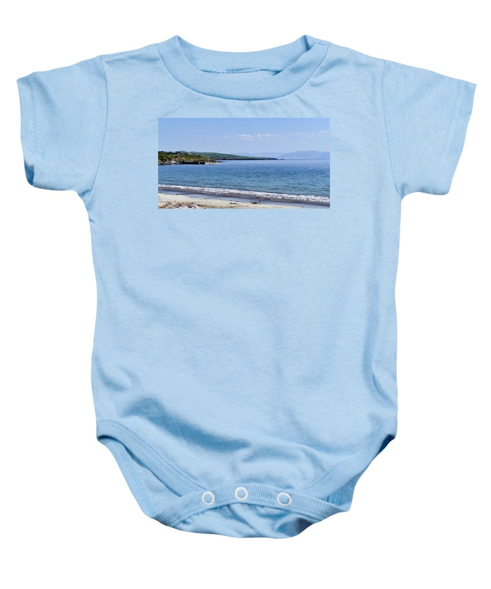 Irish Baby Onesie featuring the photograph Ventry Harbor On The Dingle Peninsula Ireland by Teresa Mucha