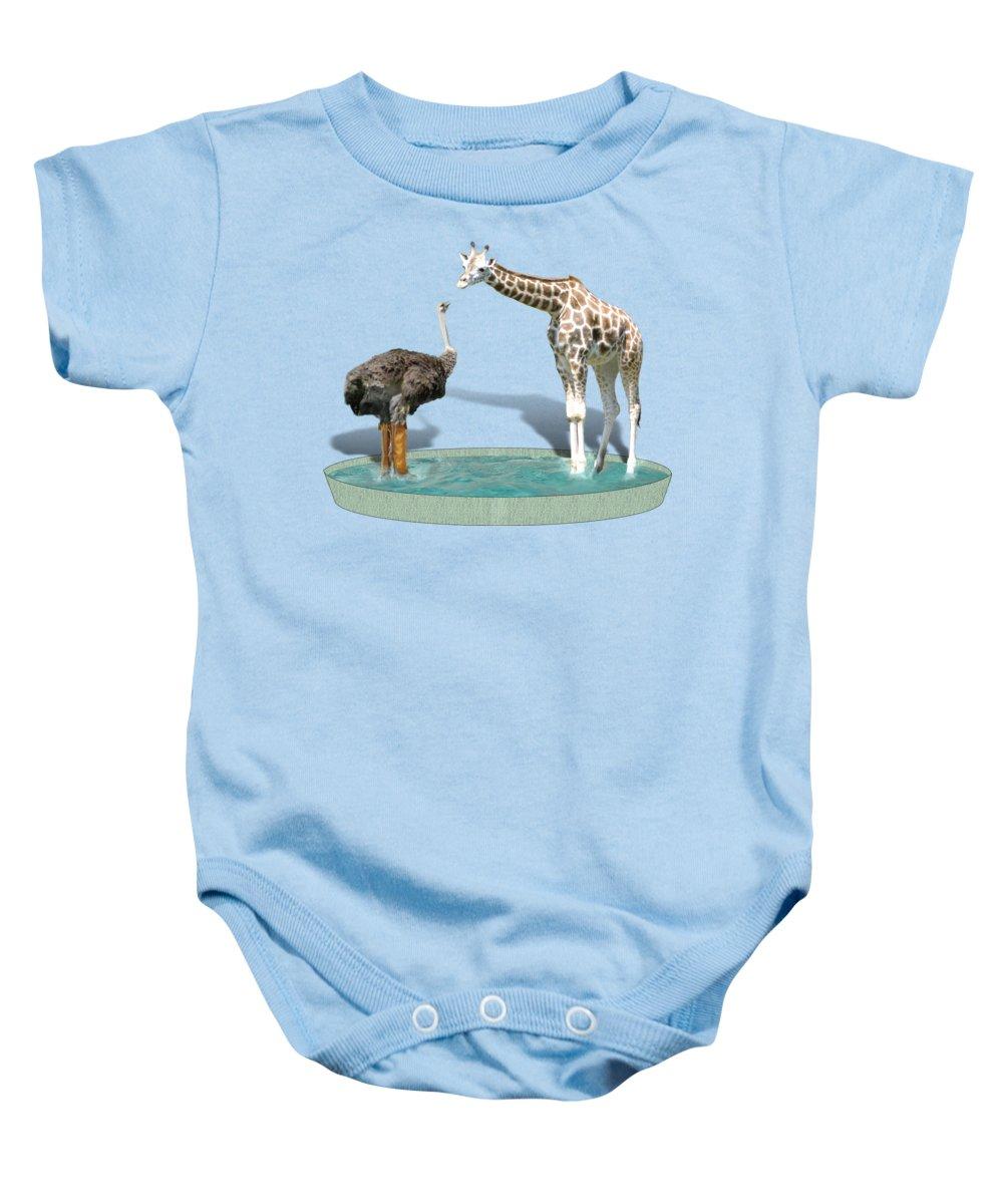 Ostrich Baby Onesies