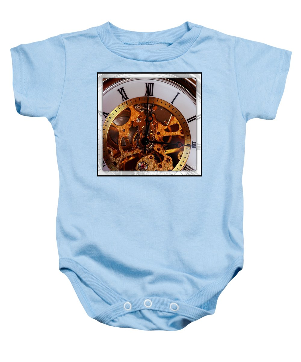 Clay Baby Onesie featuring the photograph Watch This by Clayton Bruster