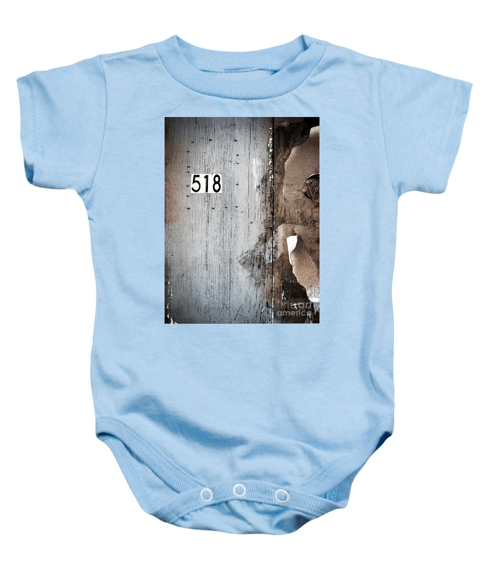 1 Baby Onesie featuring the photograph We Are Each Others Keeper by Dana DiPasquale