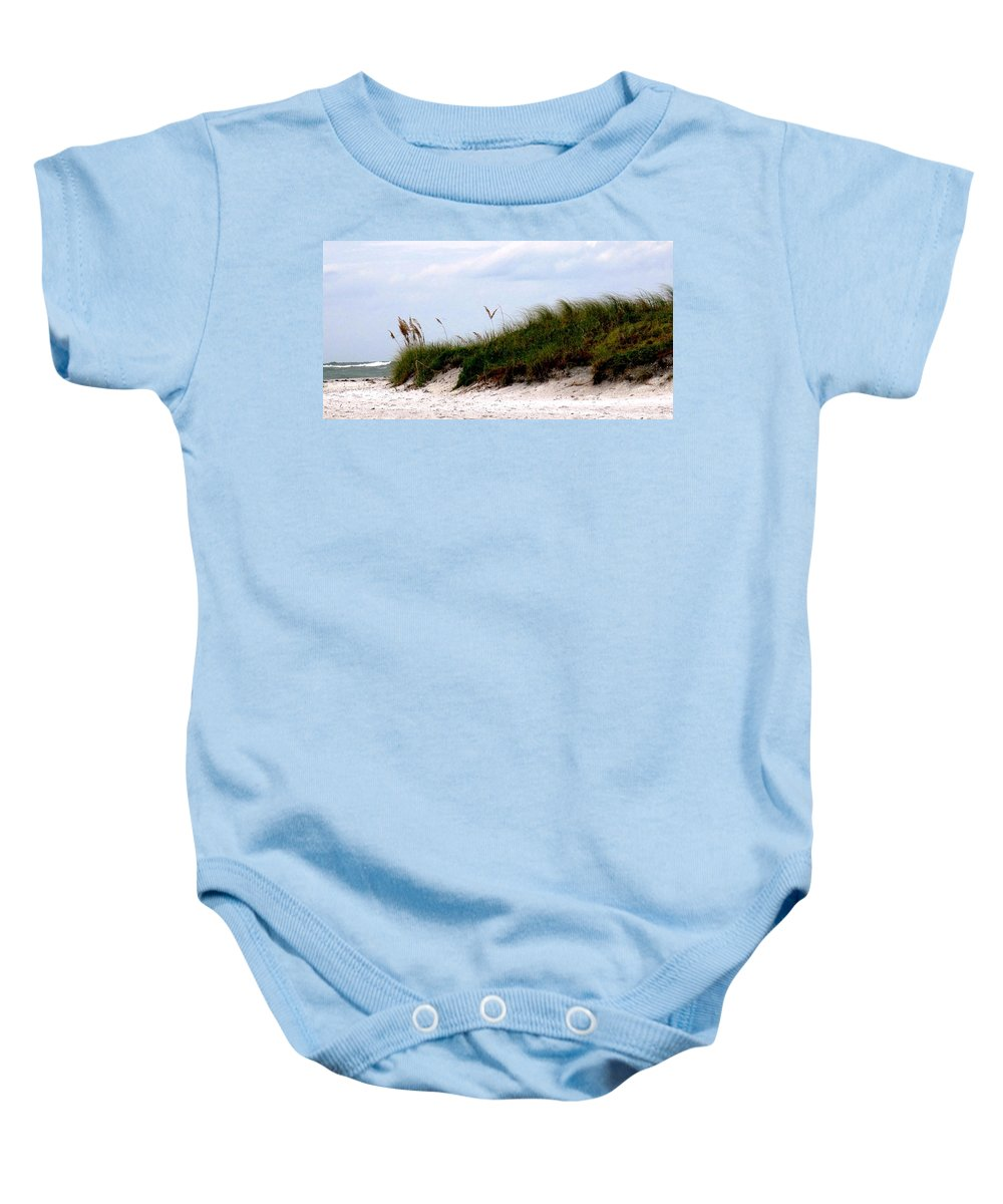 Florida Baby Onesie featuring the photograph Where The Sea Wind Blows by Ian MacDonald