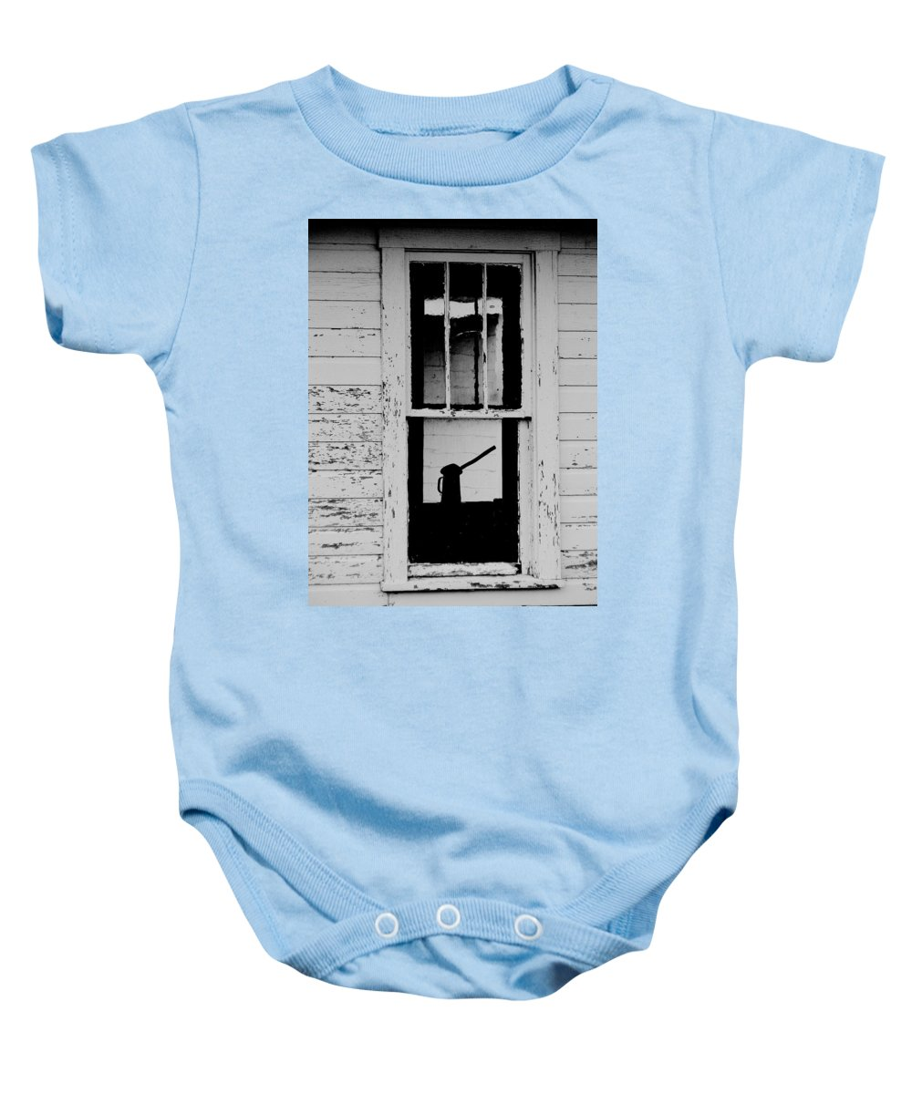 Still Life Baby Onesie featuring the photograph Window To The Past by Ed Smith