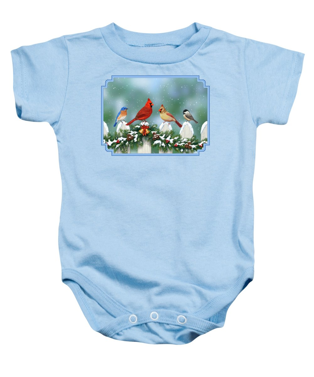Cardinal Baby Onesies