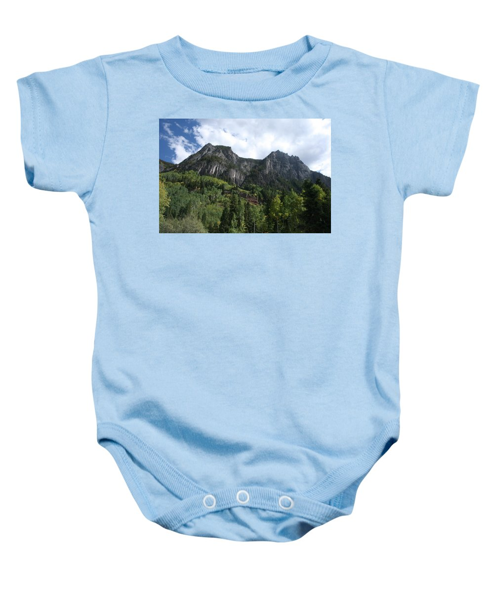 Southwest Colorado Baby Onesie featuring the photograph Colorado Autumn 10 by Grant Washburn