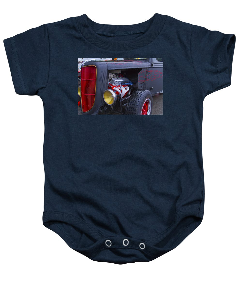 American Baby Onesie featuring the photograph Ford And Ready by Jack R Perry