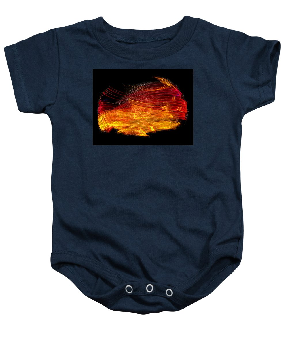 Twisting Baby Onesie featuring the photograph Twisting The Night Away by David Lee Thompson