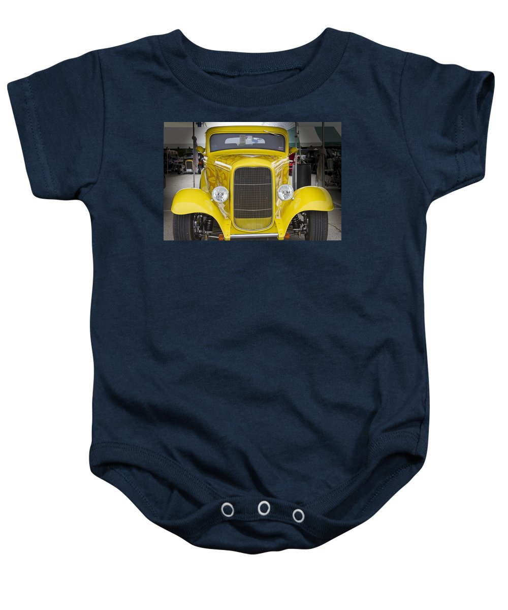 American Baby Onesie featuring the photograph Yellow Submarine Two by Jack R Perry