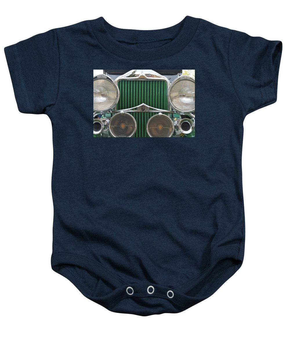 Antique Baby Onesie featuring the photograph Willis Knight by Jack R Perry