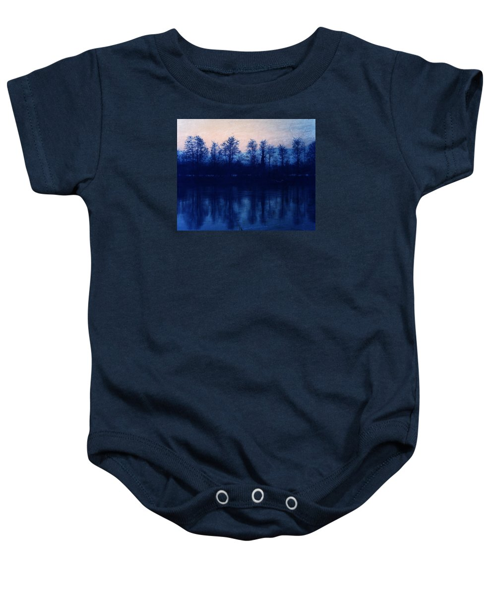 Landscape Baby Onesie featuring the photograph At The End Of The Day by Vittorio Chiampan