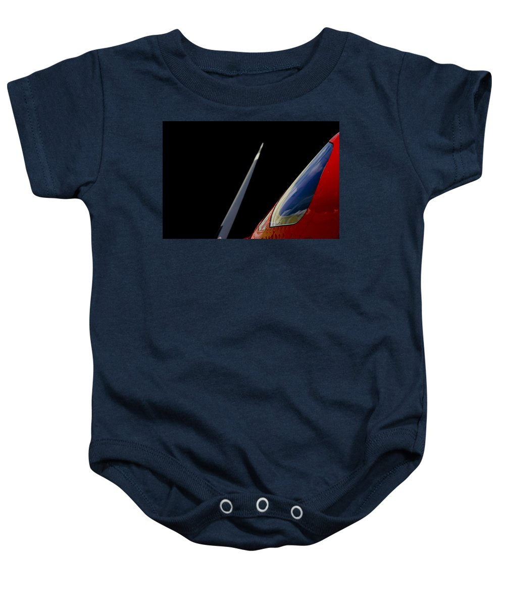 Pilatus Pc 12. Golden Eagle Baby Onesie featuring the photograph Blade Runner by Paul Job