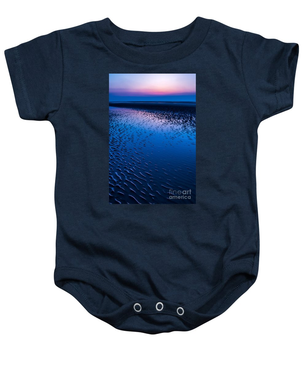 Bay Baby Onesie featuring the photograph Blue Hour by Adrian Evans