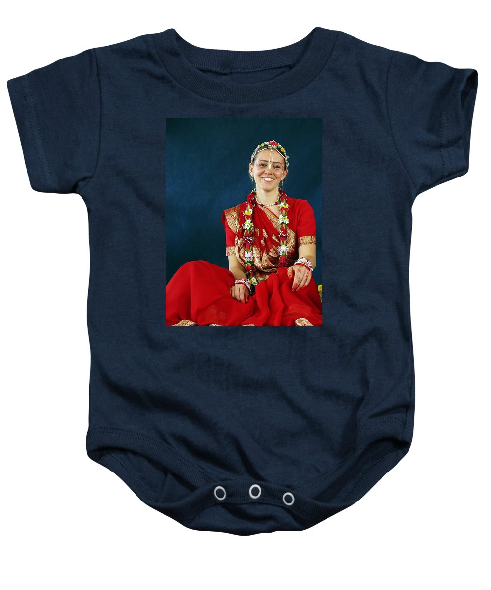 Bride Baby Onesie featuring the photograph Bride by Daniel Csoka