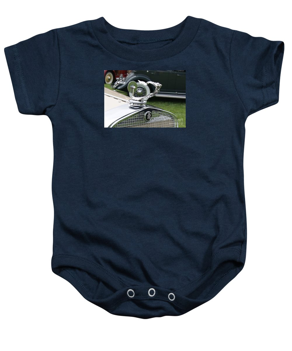 Cadillac Baby Onesie featuring the photograph Cadillac Phaeton by Neil Zimmerman