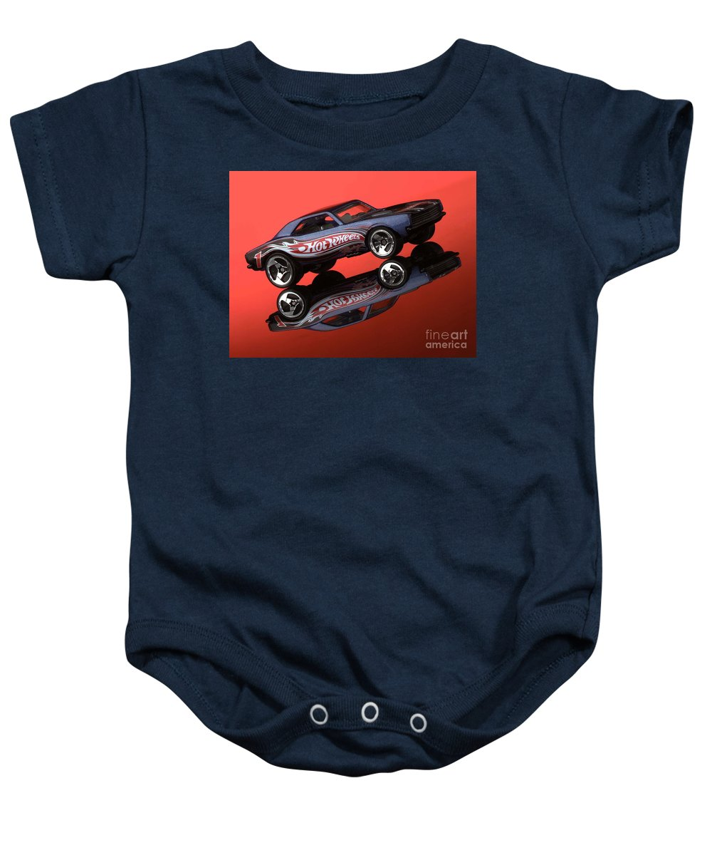 Car Baby Onesie featuring the photograph Camaro4-2 by Gary Gingrich Galleries